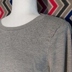 Buffalo David Bitton Grey Knit Sweater